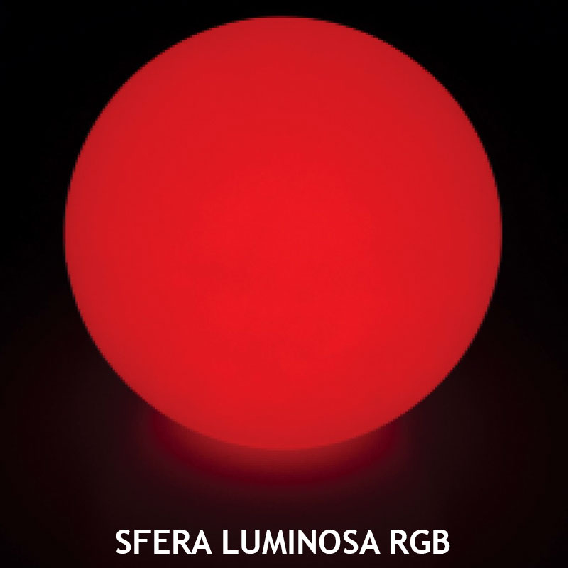 SFERA LUMINOSA RGB