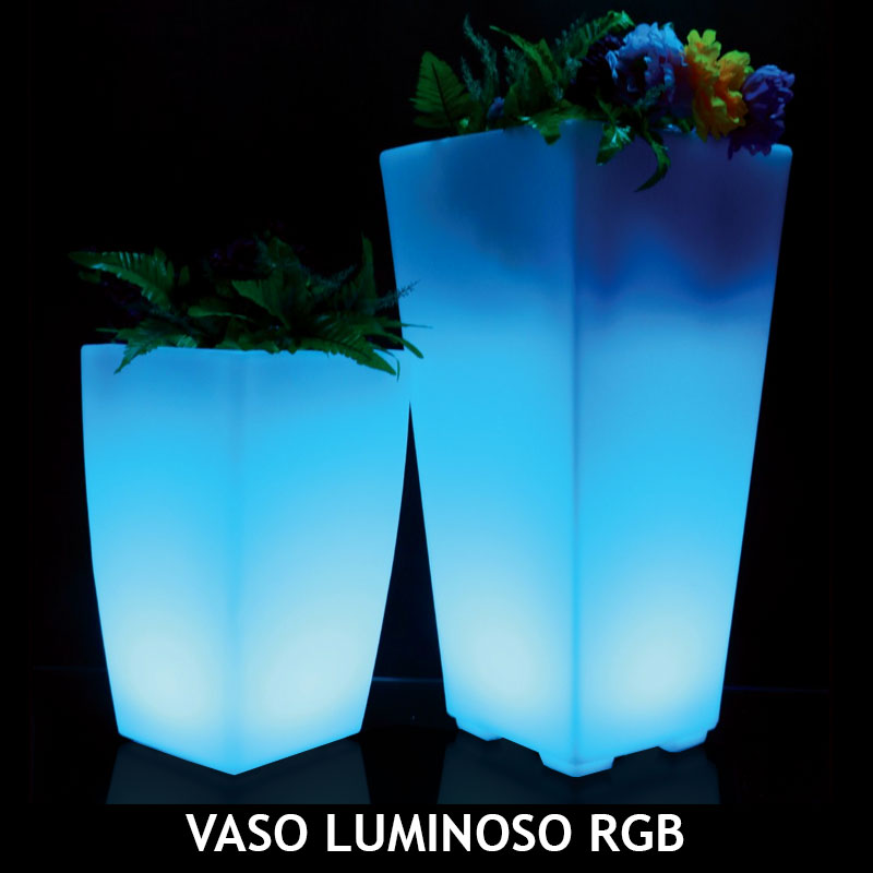 VASO LUMINOSO RGB