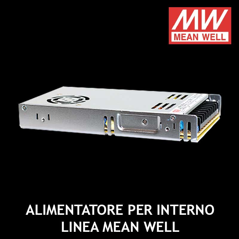 ALIMENTATORE PER INTERNO LINEA MEAN WELL
